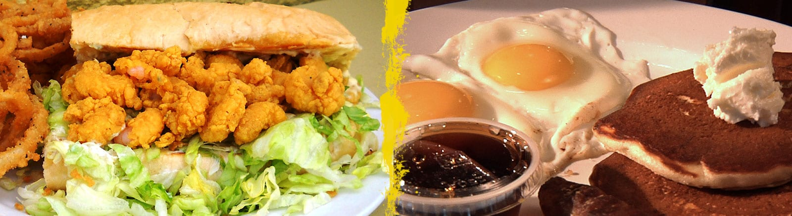 slider image of food